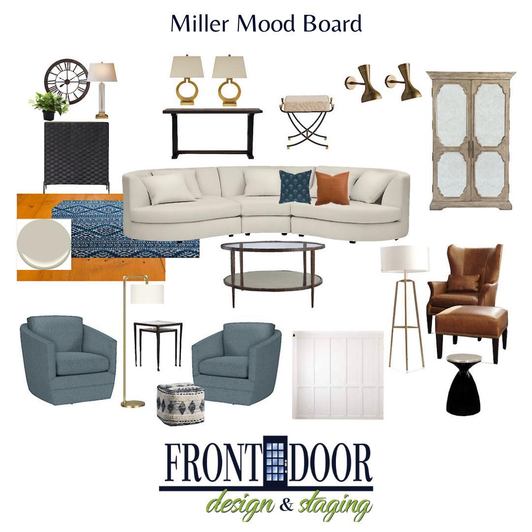 miller mood board for website